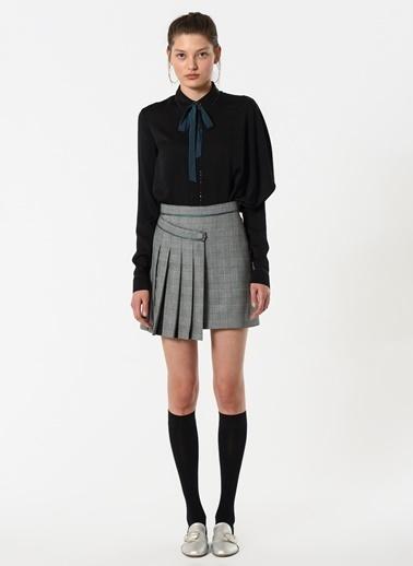Özlem Kaya Gömlek Siyah